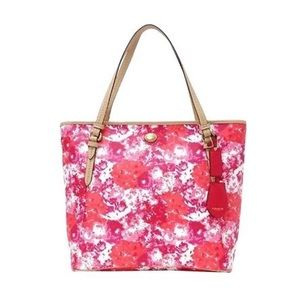 COACH • Metro Floral Tote Bag Shopper